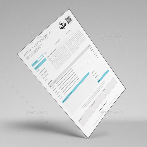 Price Quote Business Template