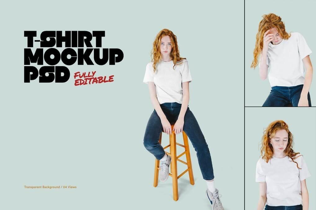 T-Shirt Mockups (1)
