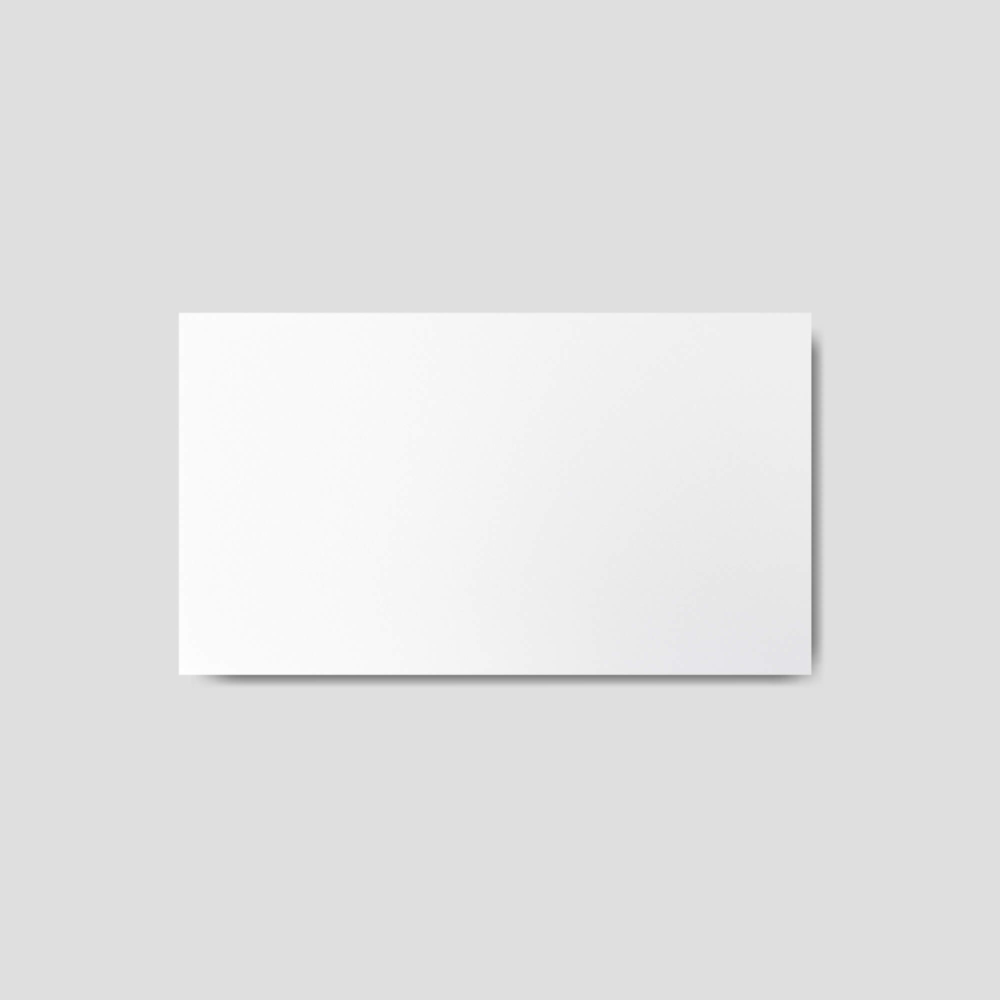 Blank Free Paper Card Mockup PSD Template