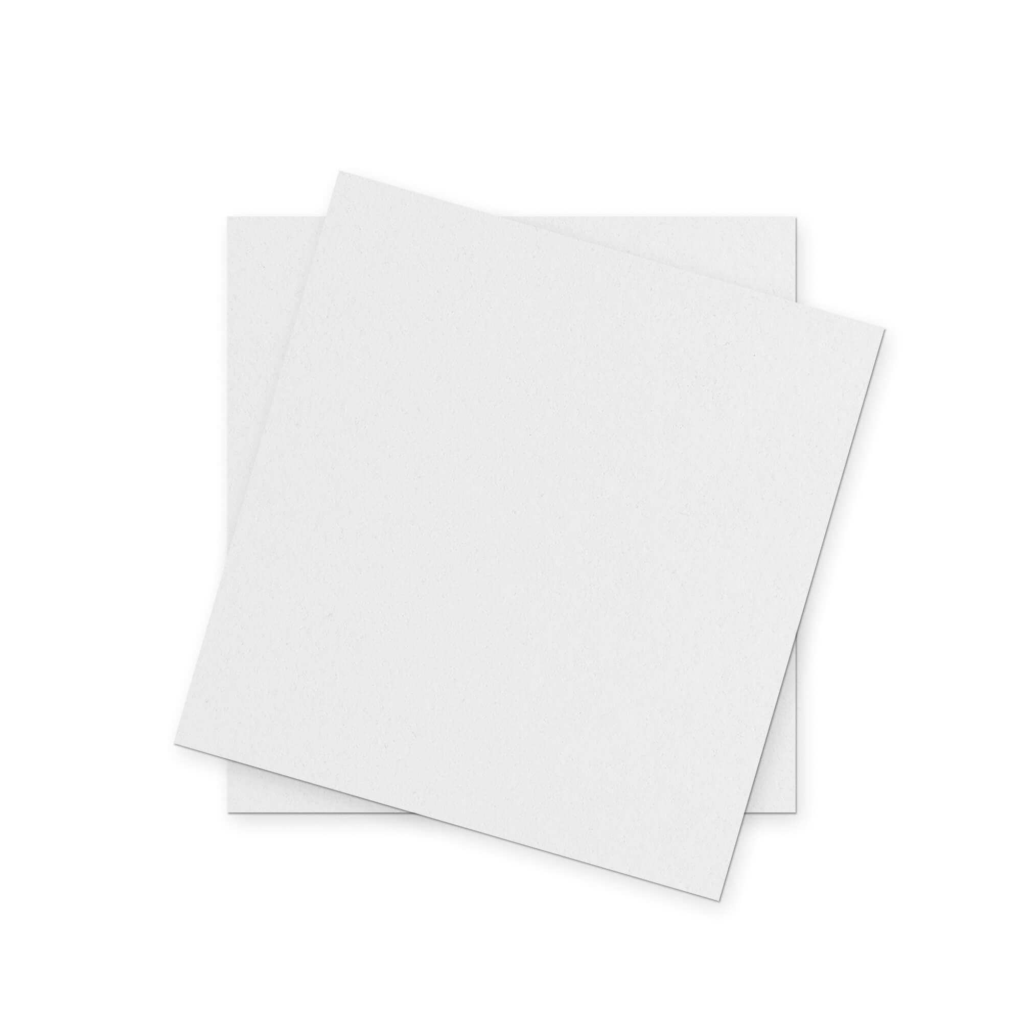 Blank Free Square Paper Mockup PSD Template