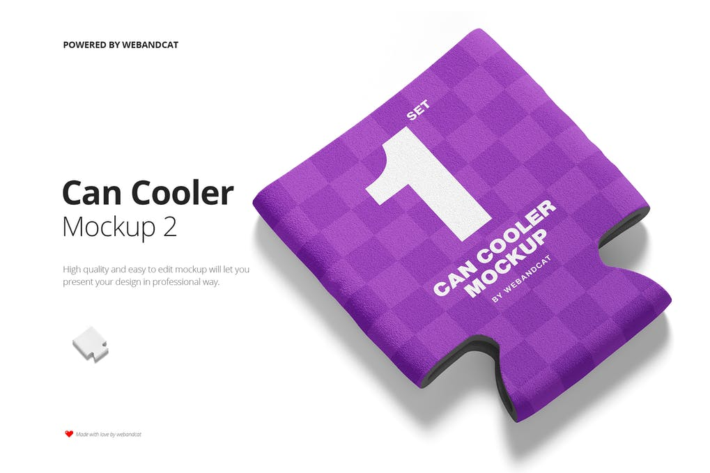 Can Cooler Mockup 2