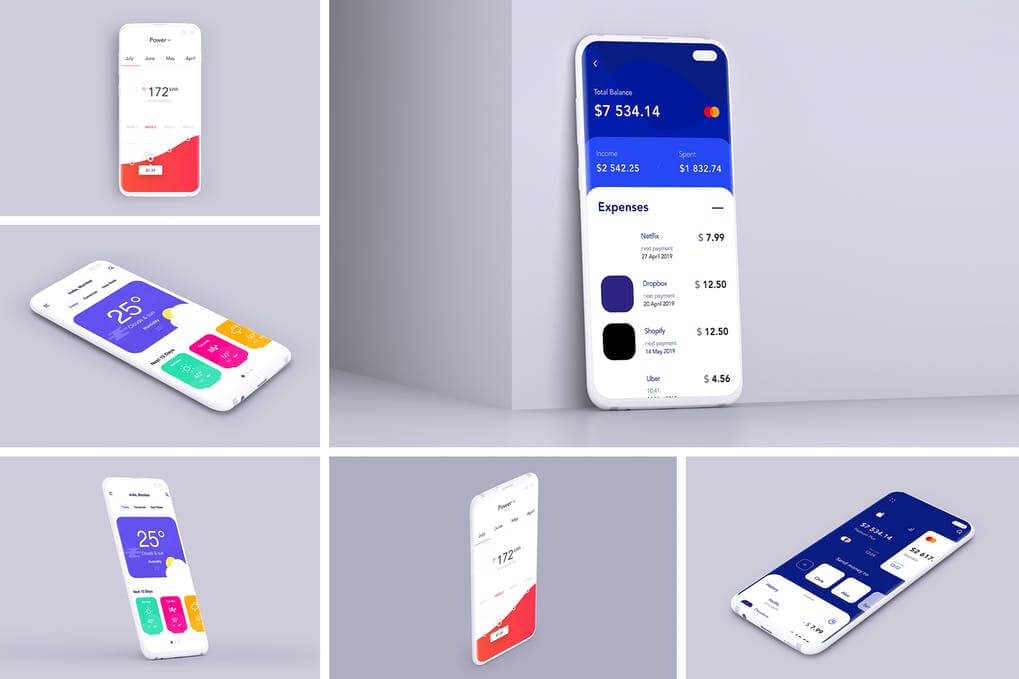 Clay Mobile Mockup