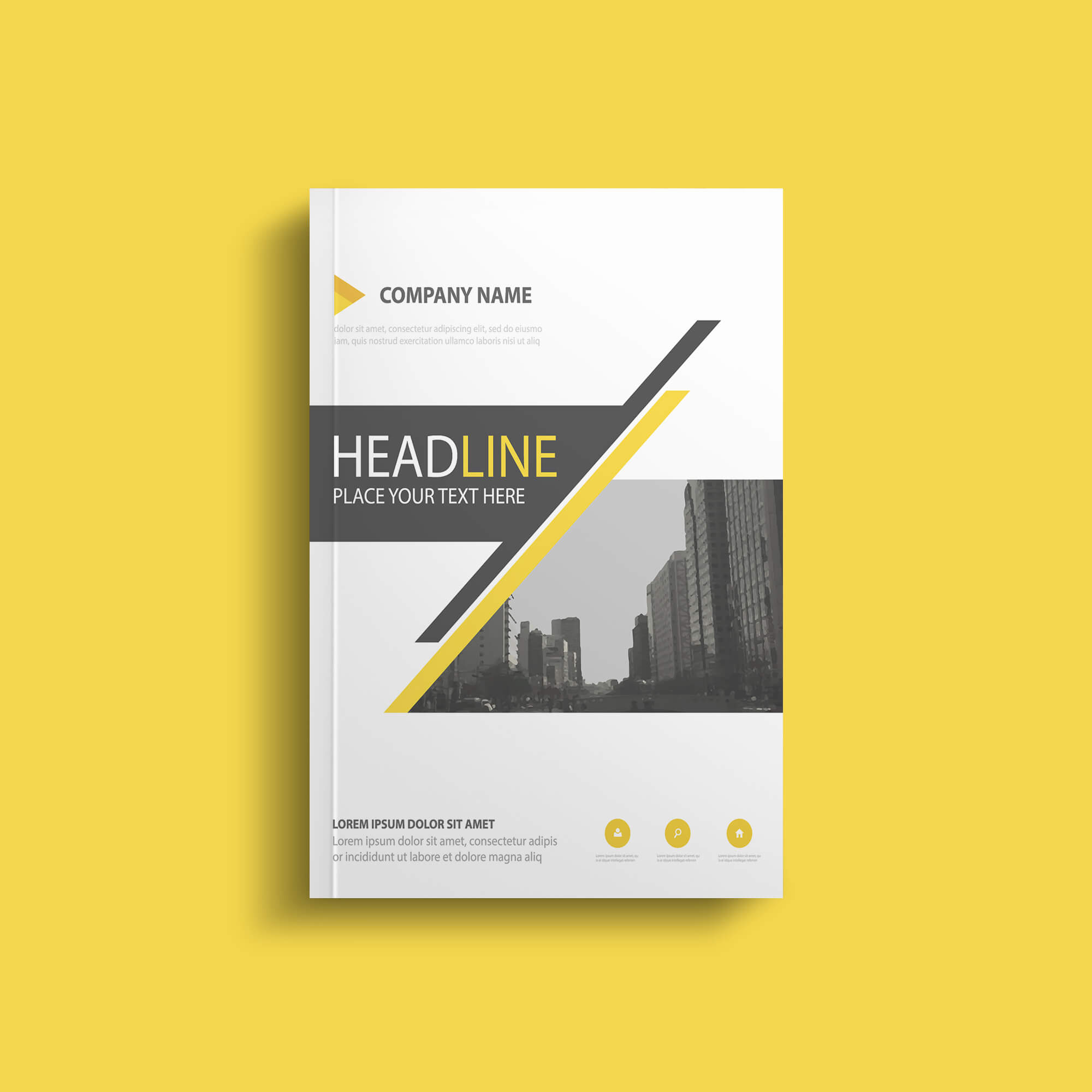 Design Free Paperback Book Mockup PSD Template