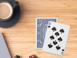 Free Card Game Mockup PSD Template
