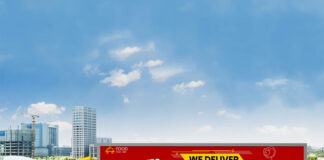 Free Food Truck Wrap Mockup PSD Template