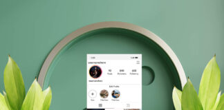 Free Instagram Layout Mockup PSD Template