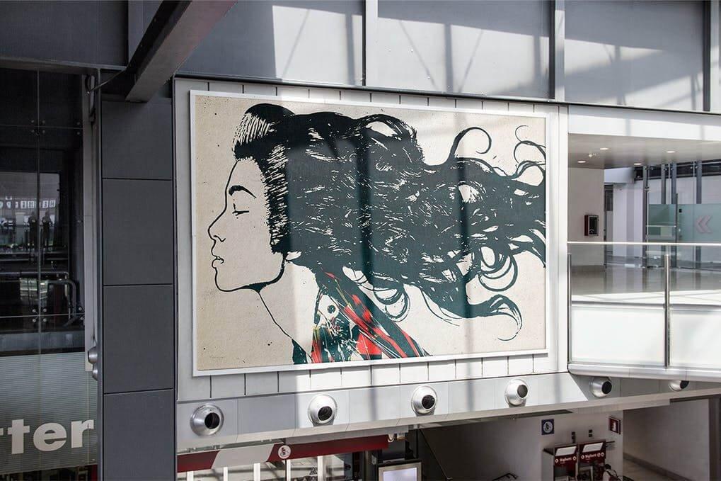 Wall Poster Mock-up