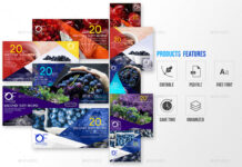 40 Facebook Ad Banners-Organic Shop