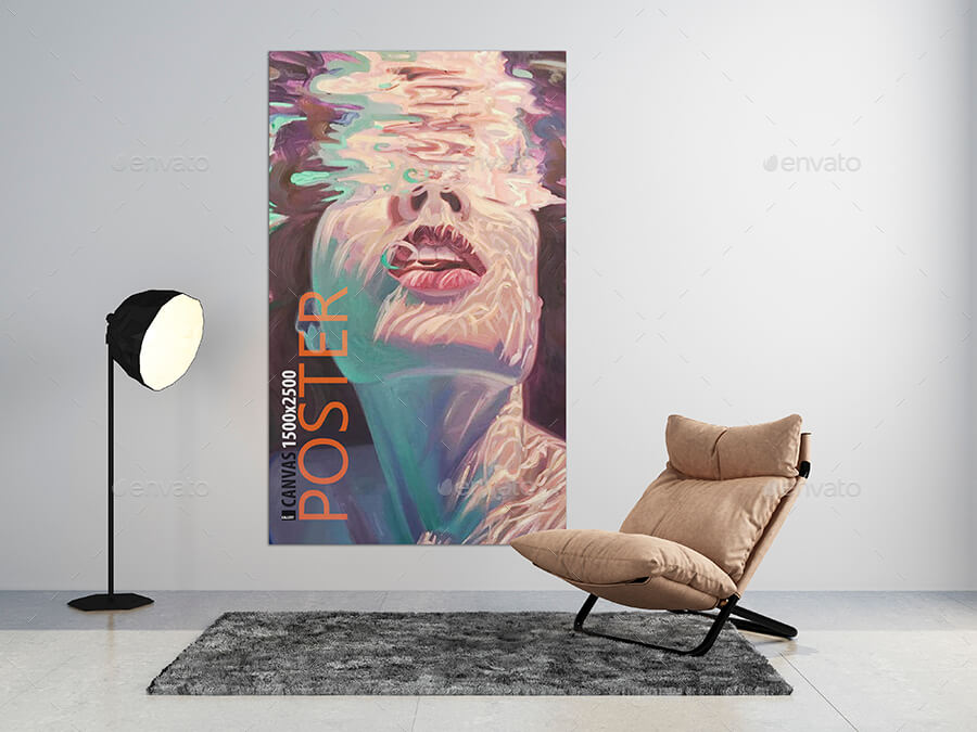 Art Wall Picture Poster Mockups [vol11]