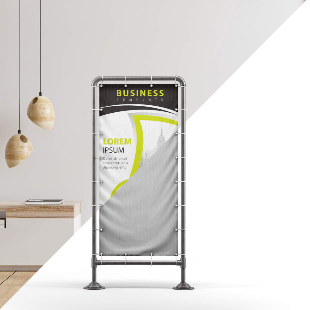 Editable Free Stand Banner Mockup PSD Template (2)