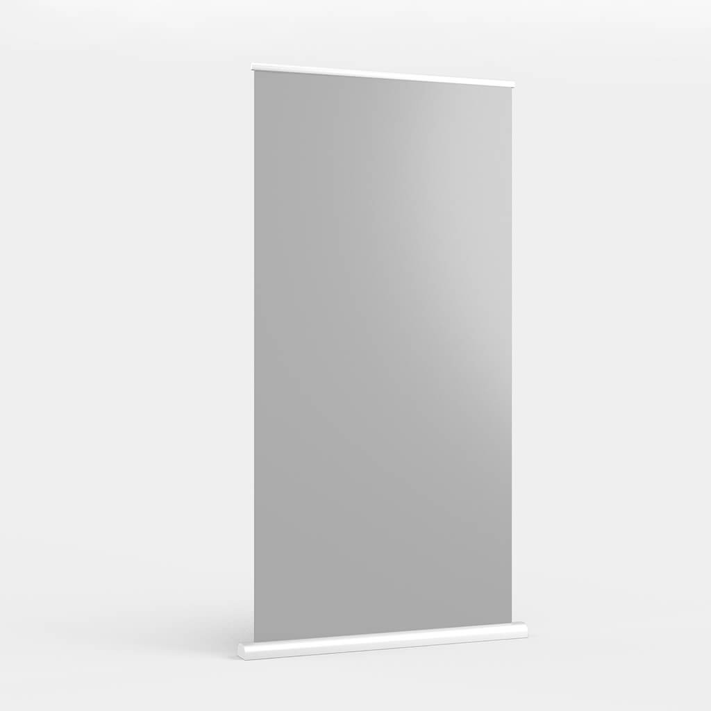 Blank Free X Banner Mockup PSD Template (1)