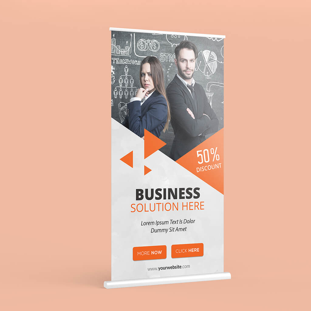 Free X Banner Mockup PSD Template 1